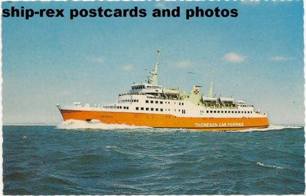 VIKING II (Thoresen Car Ferries) postcard (a)